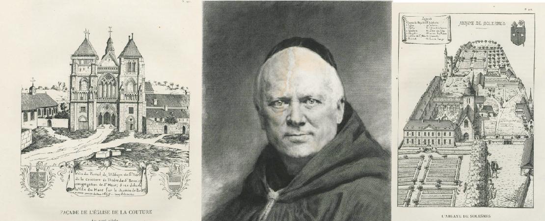 Cartulaire des abbayes de Saint-Pierre de La Couture et de Saint-Pierre de Solesmes / publié par les Bénédictins de Solesmes