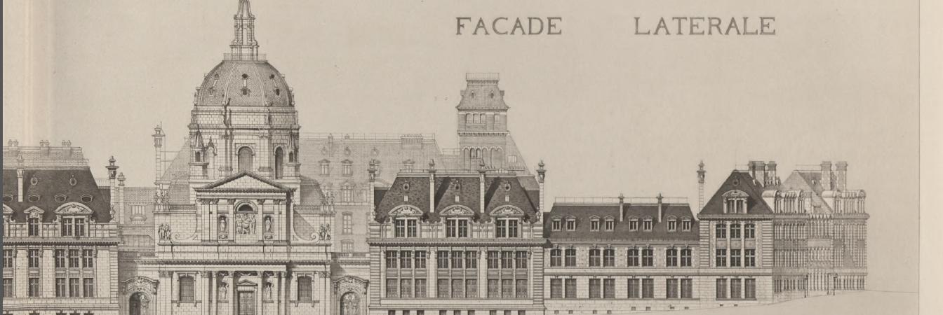 Monographie de la nouvelle Sorbonne / H.-P. Nénot, architecte membre de l'Institut